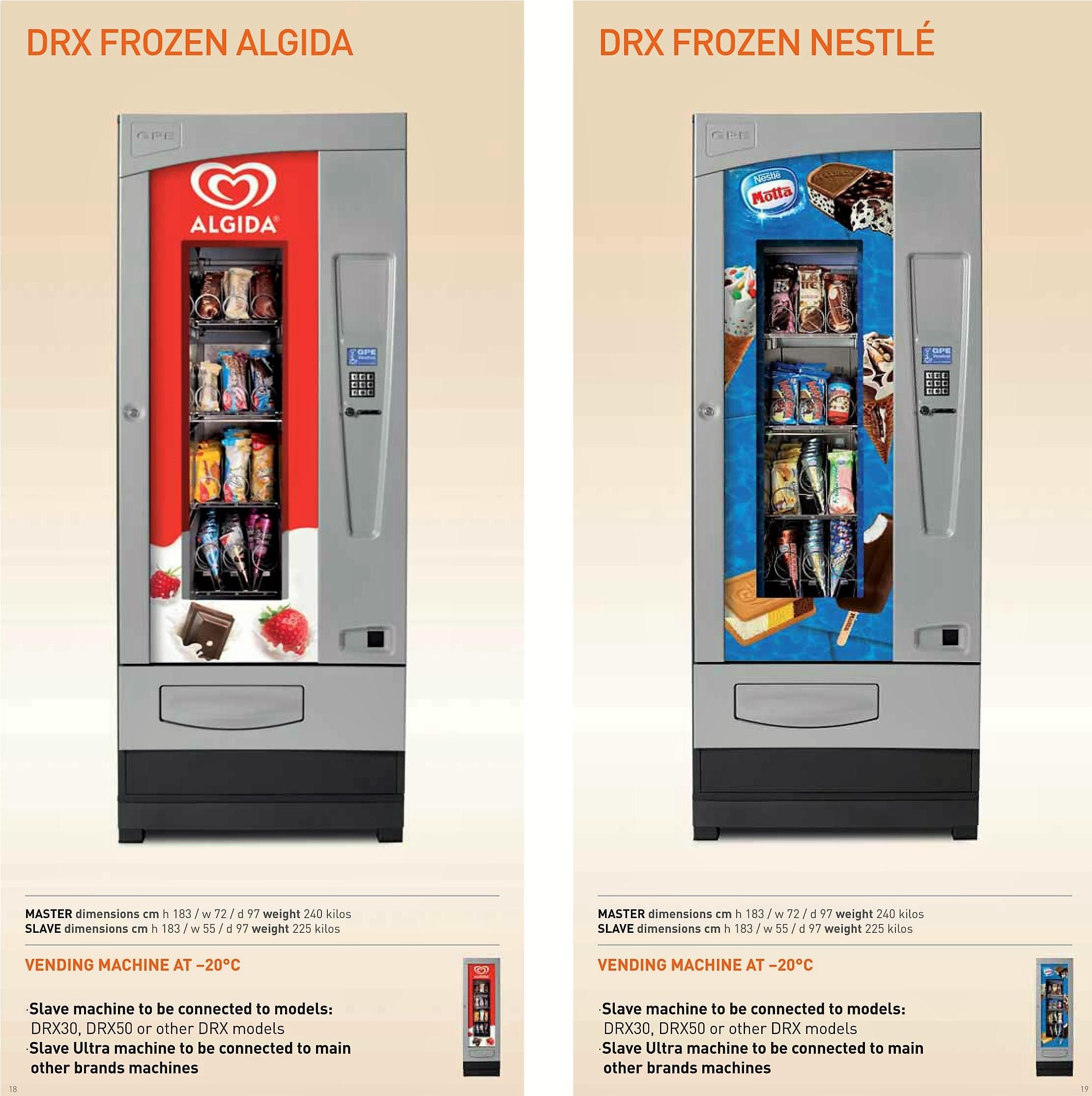 Drx Frozen Algida e Nestlè